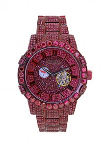 Rafaello & Co Scorpion Red Ruby Watch