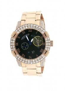 Rafaello & Co Scorpion White Diamond Rose Gold Watch