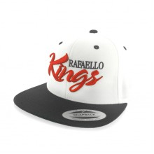 Rafaello Kings© Red/White/Black Snapback