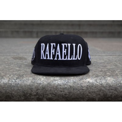Rafaello Kings© Suede White/Black Snapback