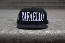Rafaello Kings© Suede White/Black Snapback