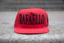 Rafaello Kings© Suede Red/Black Snapback