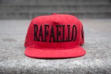Rafaello Kings© Suede Red/Black Snapback